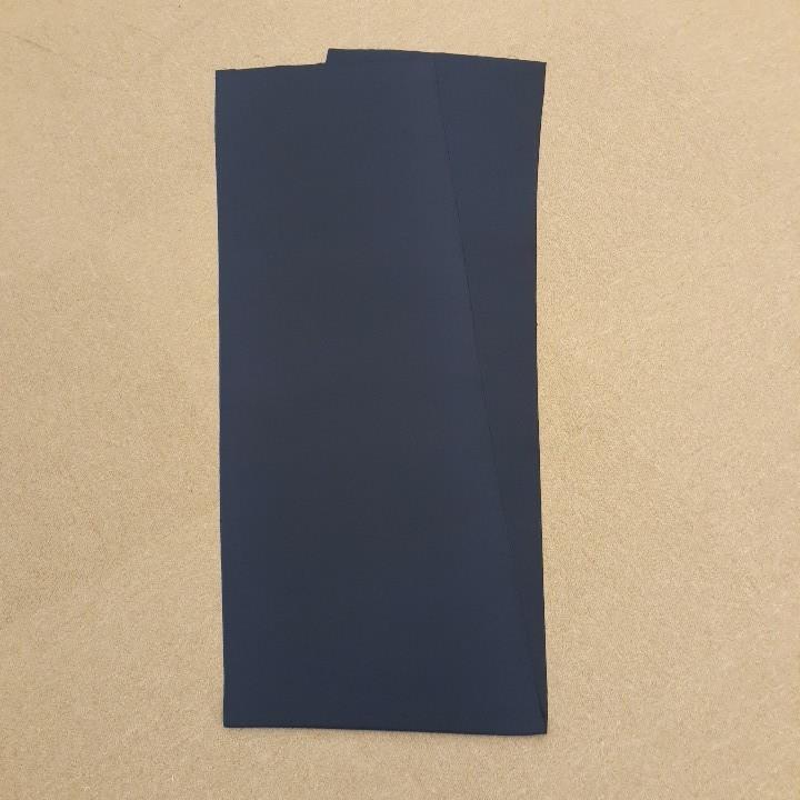 正絹 72902 濃紺 無地 シルク200cm はぎれ ハギレ リメイク ハンドメイド