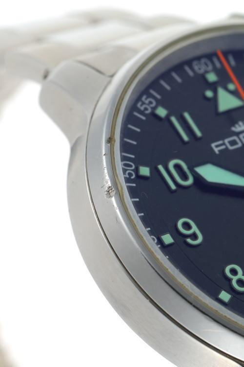 FORTIS フォルティス フリーガー デイデイト オートマチック 704.21.158 SS メンズ 時計 2110018_画像6