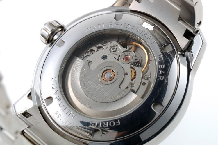 FORTIS フォルティス フリーガー デイデイト オートマチック 704.21.158 SS メンズ 時計 2110018_画像8