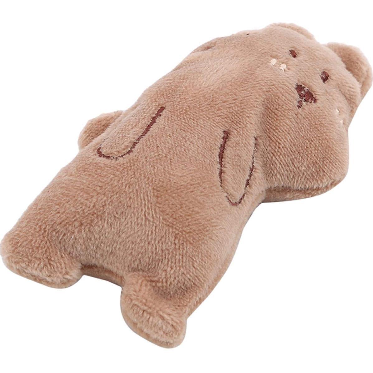 ペットの猫のおもちゃかわいいペットのぬいぐるみペット用品 ヒグマ