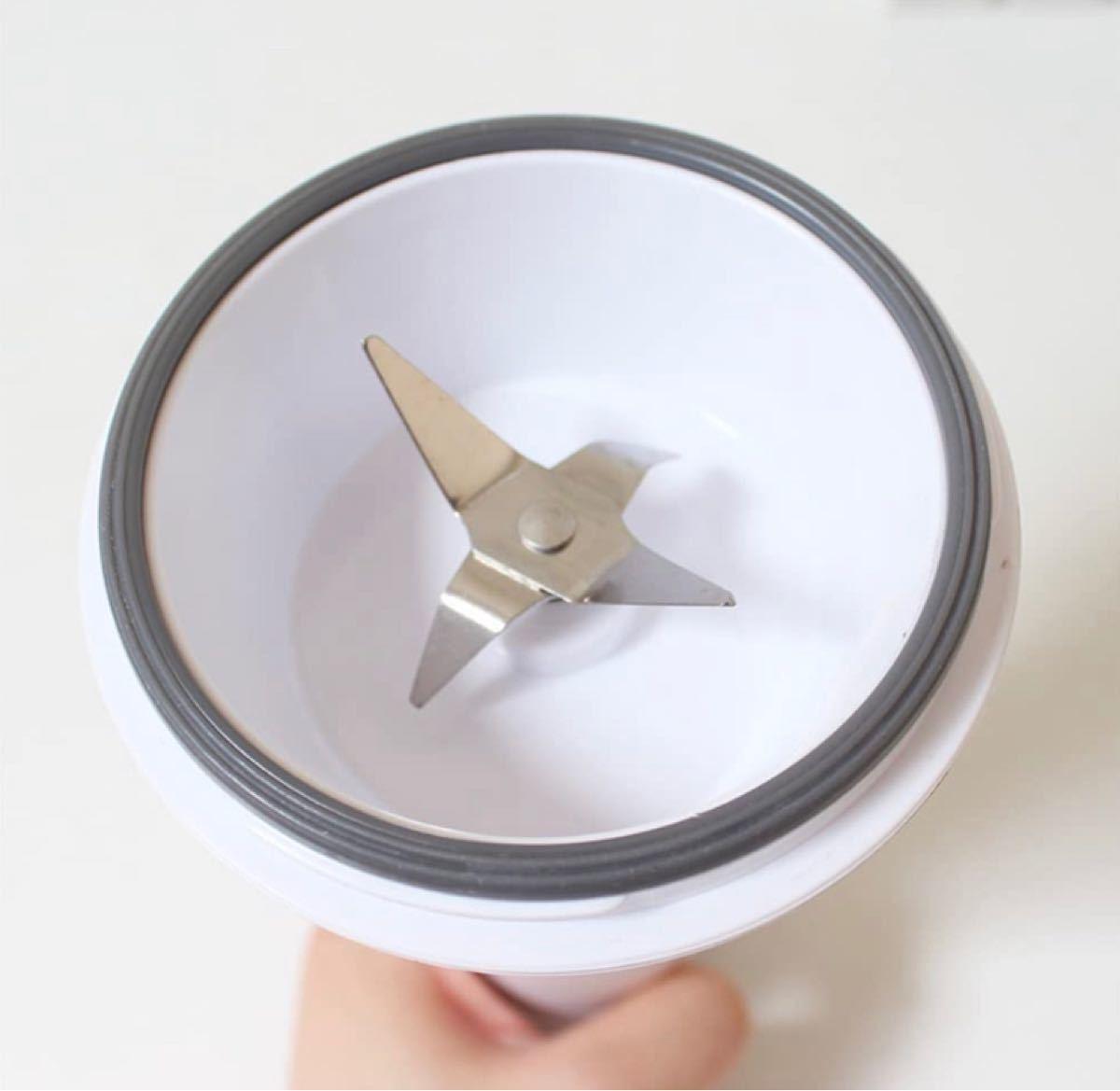 ジューサー USB充電式 ポータブル スムージー ブレンダー ジューサー 保護機能付き ブレンド ジュース ドリンク