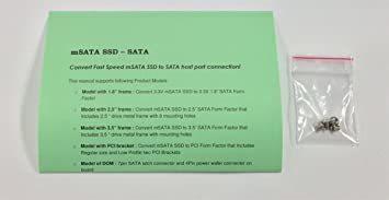 新品 玄人志向 セレクトシリーズ mSATA SSD SATA変換アダプター KRHK-MSATA/S7QU44_画像2