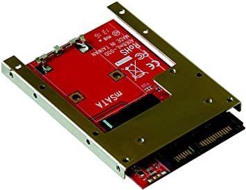 新品 玄人志向 セレクトシリーズ mSATA SSD SATA変換アダプター KRHK-MSATA/S7QU44_画像1