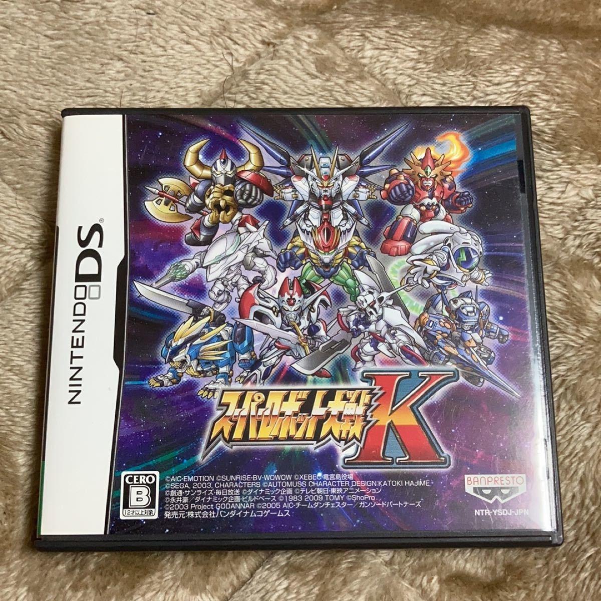 【DS】 スーパーロボット大戦K バンダイナムコゲームス