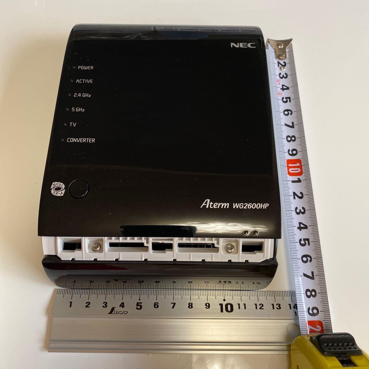 Aterm WG2600HP Wi-Fi NEC 無線LANルータ