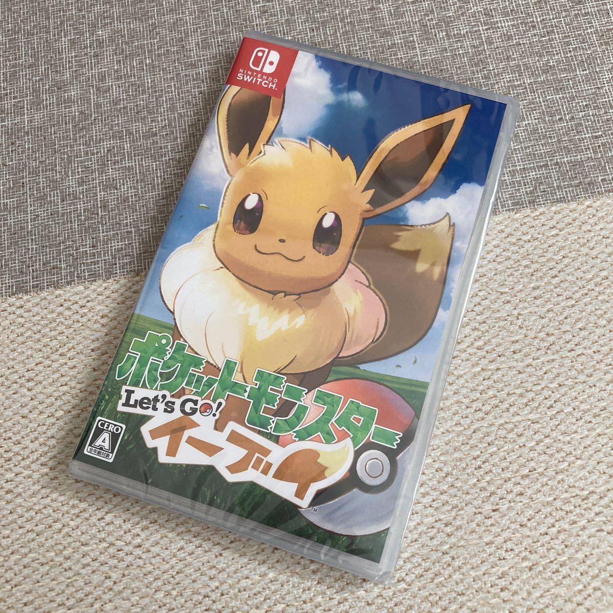 ポケットモンスター Let''s Go イーブイ Nintendo Switch レッツゴーイーブイ Switchソフト