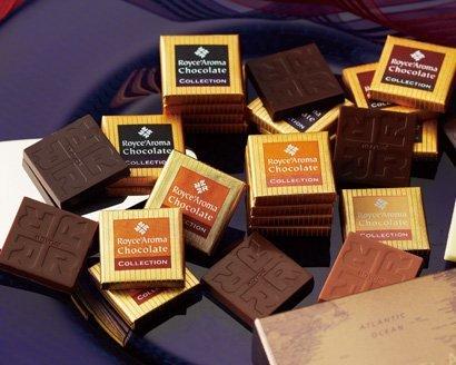 新品【ROYCE'】 ロイズ アロマチョコレートコレクション /8種類のチョコレート 本物志向【北海道限定】W66D_画像2