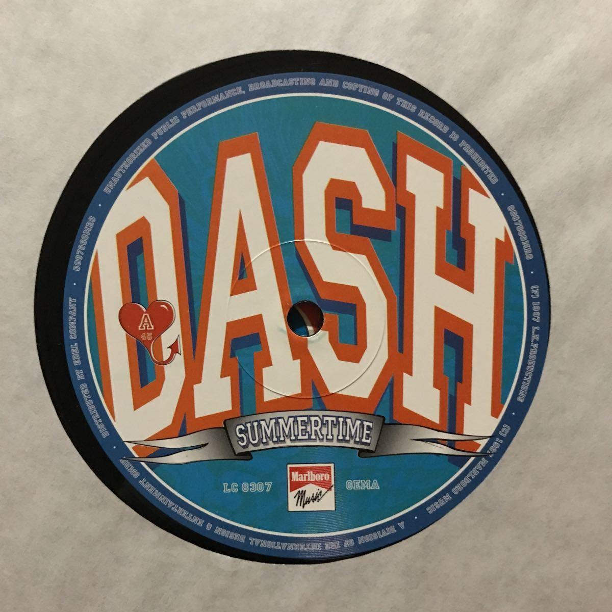 ●【eu-rap】dash / summertime[12inch]オリジナル盤《R74 9595》