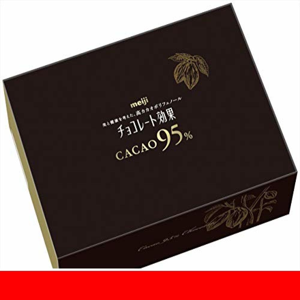 新品明治 チョコレート効果カカオ95%大容量ボックス 800gUIESOJMC_画像1