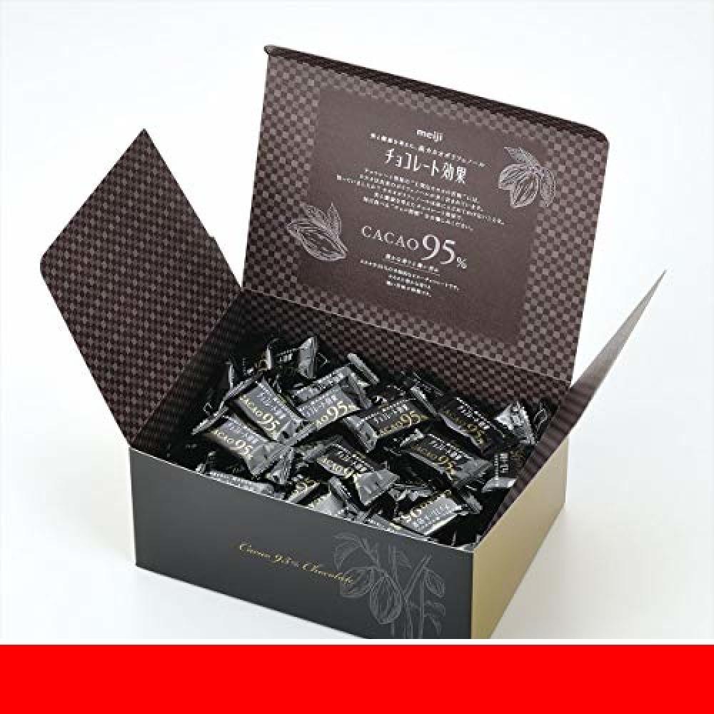 新品明治 チョコレート効果カカオ95%大容量ボックス 800gUIESOJMC_画像3