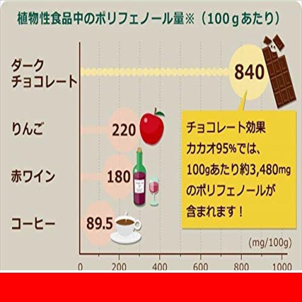 新品明治 チョコレート効果カカオ95%大容量ボックス 800gUIESOJMC_画像5