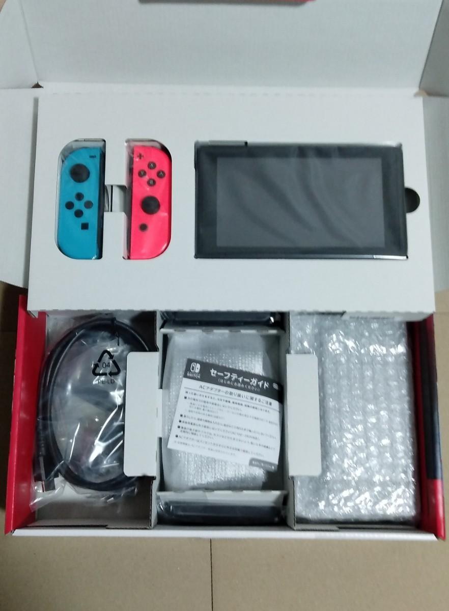 Nintendo Switch 任天堂スイッチ ネオンブルー/ネオンレッド