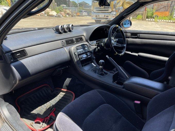 ソアラ 即ドリ タービン車 チューニング車両 1.5JZ カスタム多数 低走行 程度〇 公認車両_画像7