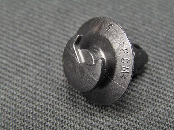 ベンツ純正品 W463用 内装固定ピン 2個セット(A0019915698)_画像8