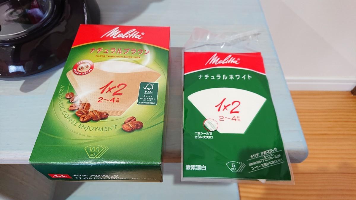 コーヒーメーカー メリタ 【フィルターセット】