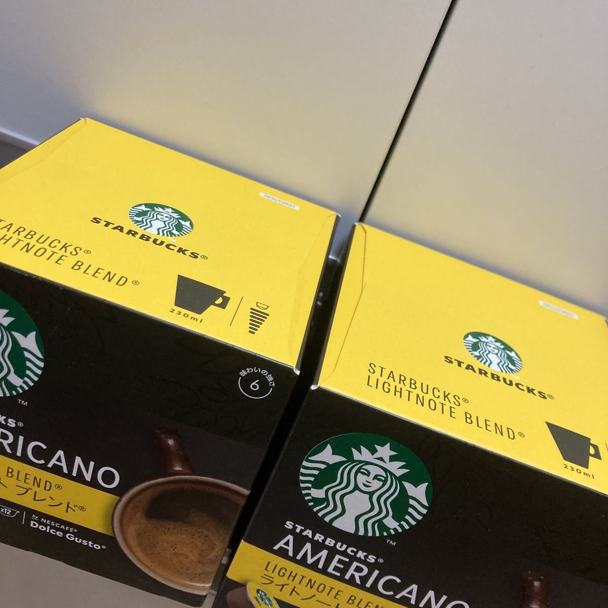 ネスカフェ ドルチェグスト専用カプセル スターバックス STARBUCKS (12杯) × 2箱 スタバ コーヒー クーポン利用 送料無料 即決