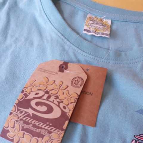 ▼817 ピコ PIKO 半袖Tシャツ Lサイズ  黄緑  新品1枚タグ付  _画像5