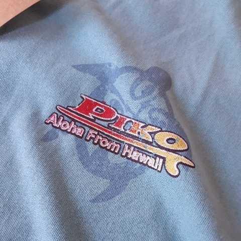 ▼817 ピコ PIKO 半袖Tシャツ Lサイズ  黄緑  新品1枚タグ付  _画像9