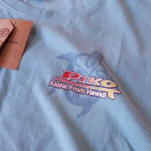 ▼817 ピコ PIKO 半袖Tシャツ Lサイズ  黄緑  新品1枚タグ付  _画像4