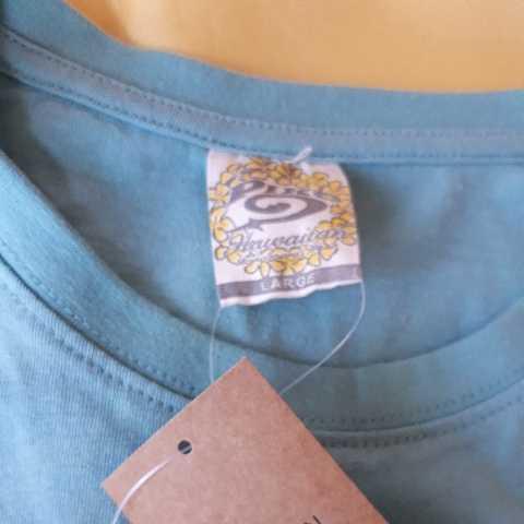▼817 ピコ PIKO 半袖Tシャツ Lサイズ  黄緑  新品1枚タグ付  _画像7