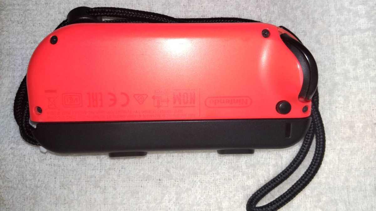 任天堂 ニンテンドースイッチ Nintendo Switch Joy-Con ネオンレッド ネオンブルー ストラップ 中古動作品 送料無料_画像4