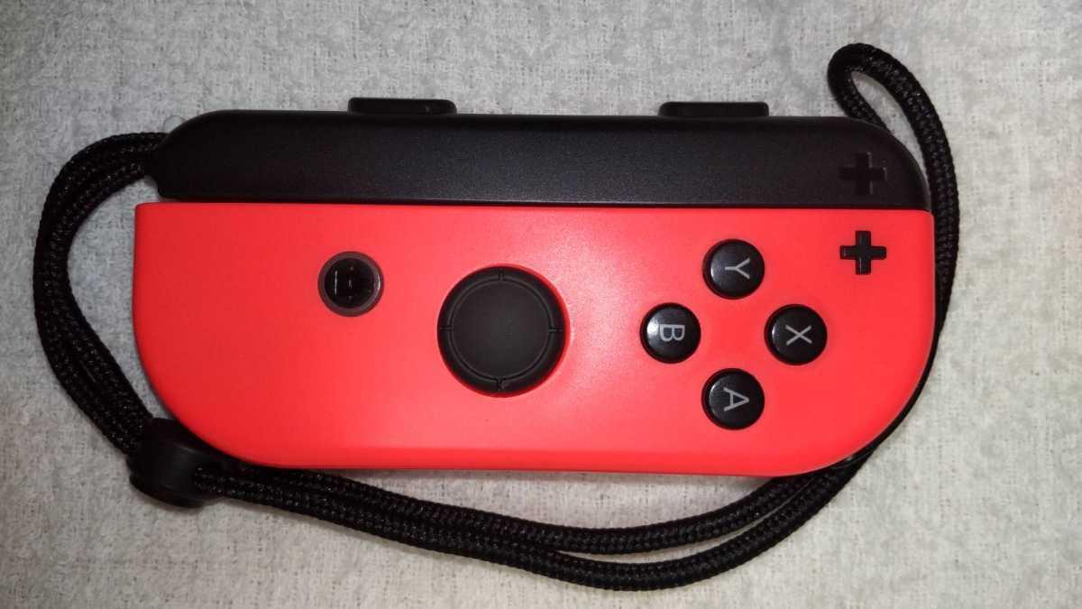 任天堂 ニンテンドースイッチ Nintendo Switch Joy-Con ネオンレッド ネオンブルー ストラップ 中古動作品 送料無料_画像3