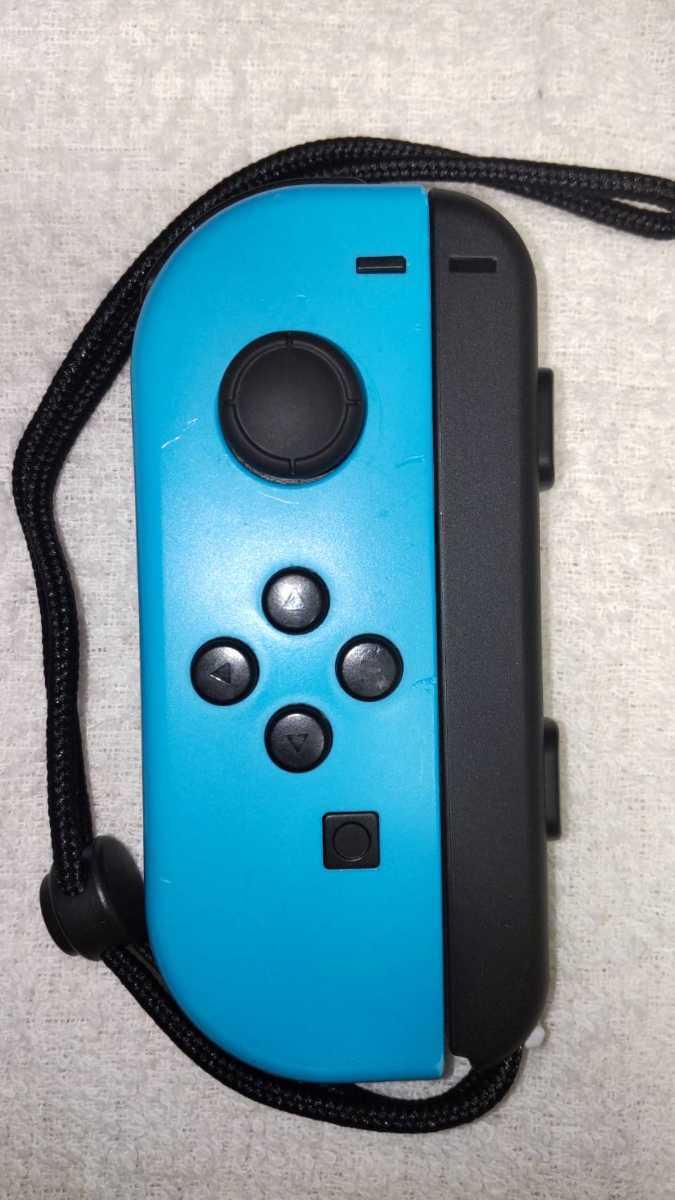 任天堂 ニンテンドースイッチ Nintendo Switch Joy-Con ネオンレッド ネオンブルー ストラップ 中古動作品 送料無料_画像5