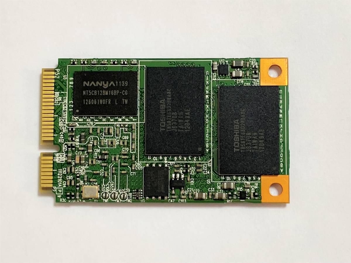 送料込み Lite-on 東芝 MLCチップ mSATA 128GB SSD
