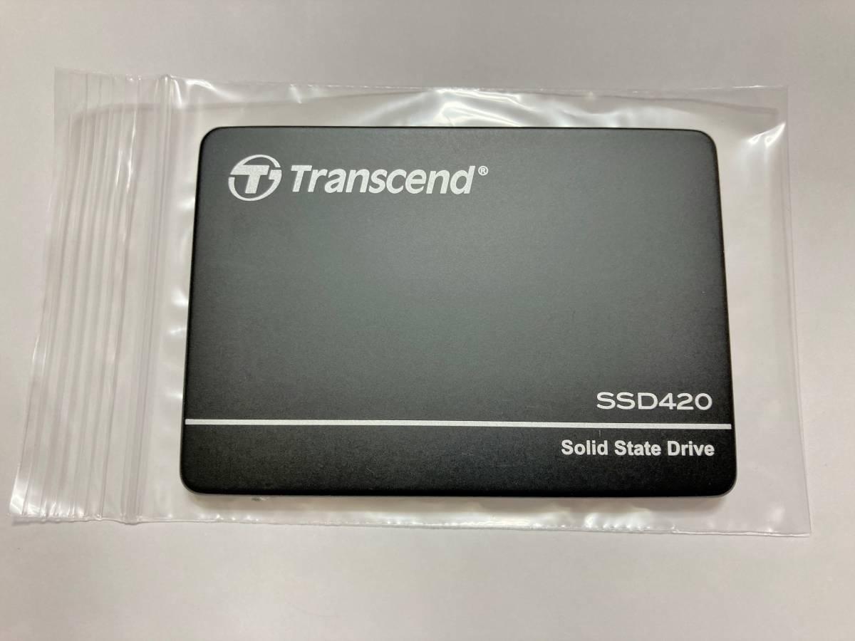 Transcend 420 業務用 産業用 組込向けSSD 512GB 2.5 SATA MLC NAND採用 高耐久 TS512GSSD420K