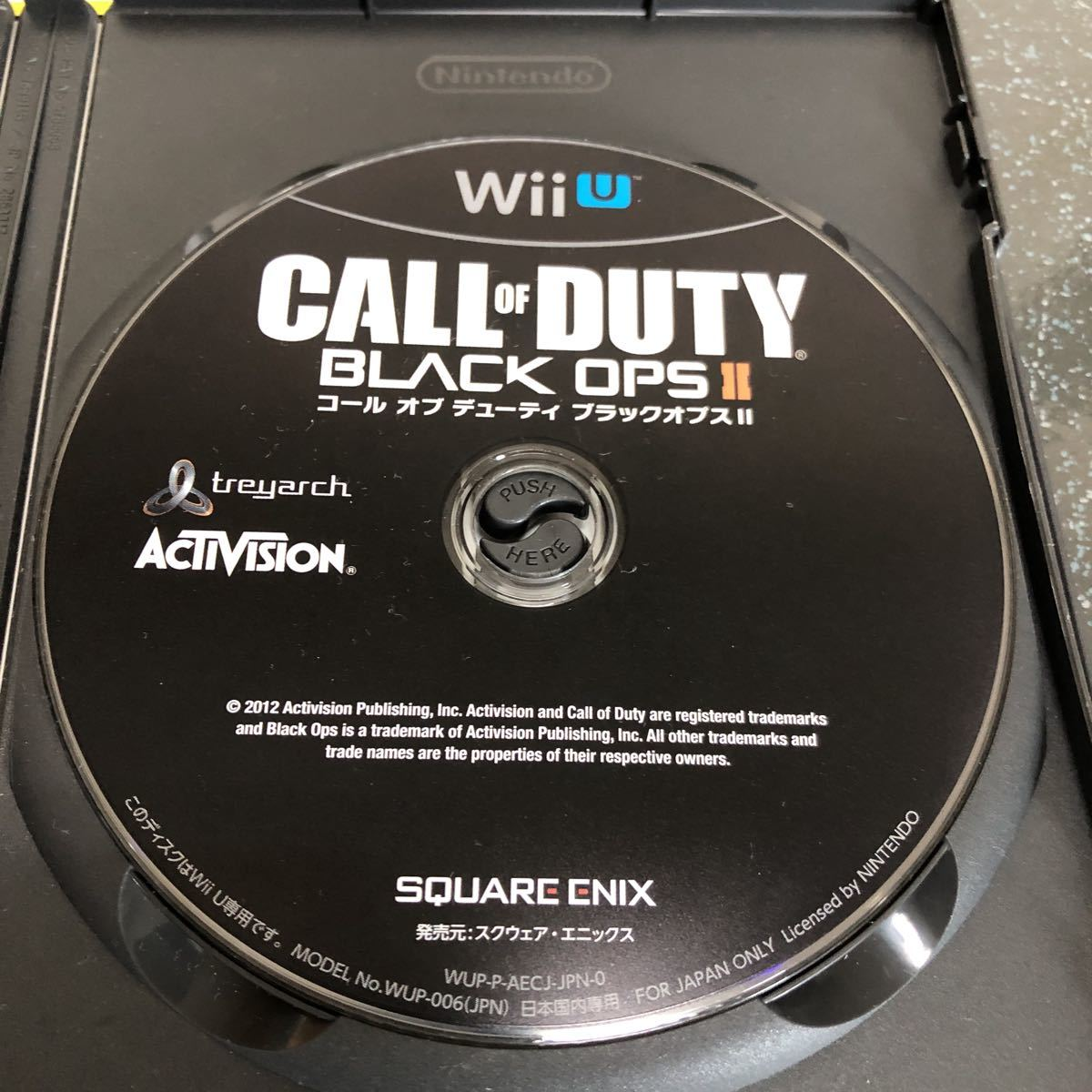 コール オブ デューティ ブラックオプス II CALL OF DUTY BLACK OPS 2 Wii U 【1976】