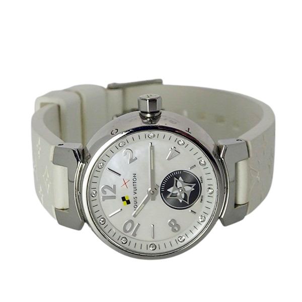【LOUIS VUITTON ルイヴィトン】タンブール ラブリーカップ 12Pダイヤモンド Q12M0 レディース 腕時計【美品中古】_画像4