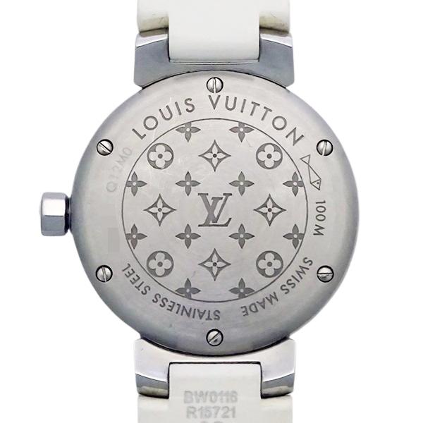 【LOUIS VUITTON ルイヴィトン】タンブール ラブリーカップ 12Pダイヤモンド Q12M0 レディース 腕時計【美品中古】_画像6