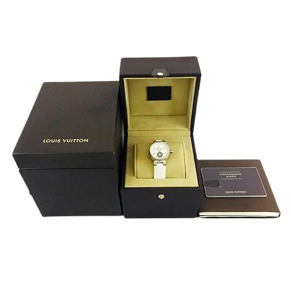 【LOUIS VUITTON ルイヴィトン】タンブール ラブリーカップ 12Pダイヤモンド Q12M0 レディース 腕時計【美品中古】_画像8
