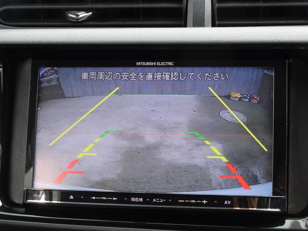 車検満タン!28年式!アクア!中期モデル!S!実走28050km!ナビ!Bluetooth機能!バックモニター!ETC!_バックモニター
