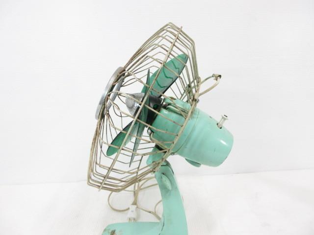 XE158■昭和レトロ 三菱 壁掛型 扇風機 羽根25cm D-25 / MITSUBISHI【引取可】_画像6