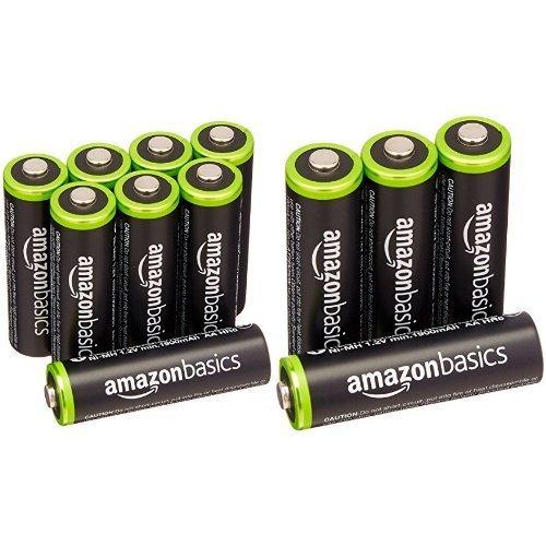 ベーシック 充電池 充電式ニッケル水素電池 単3形8個セット (最小容量1900mAh、約1000回使用可能) &a_画像1