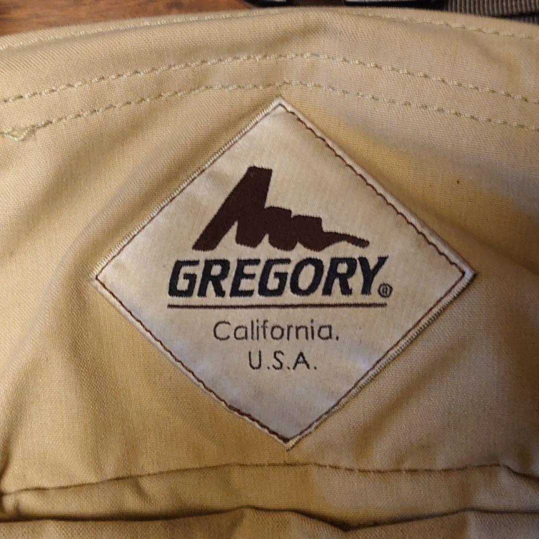 グレゴリー ウエストバッグ テールウインド GREGORY(旧ロゴ) タン 旧タグ ウエストポーチ