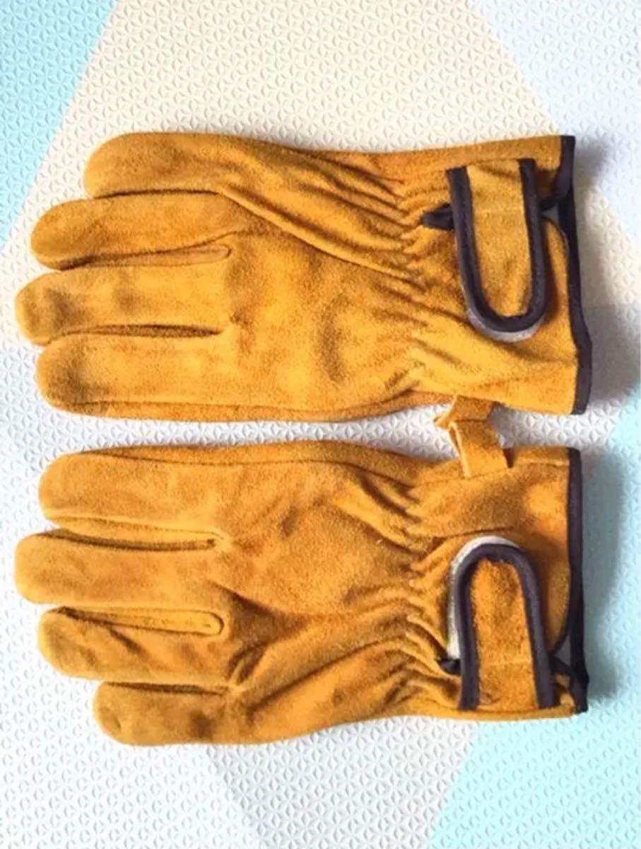 耐熱手袋 BBQ 耐熱グローブ アウトドア用 作業革手袋Mサイズ