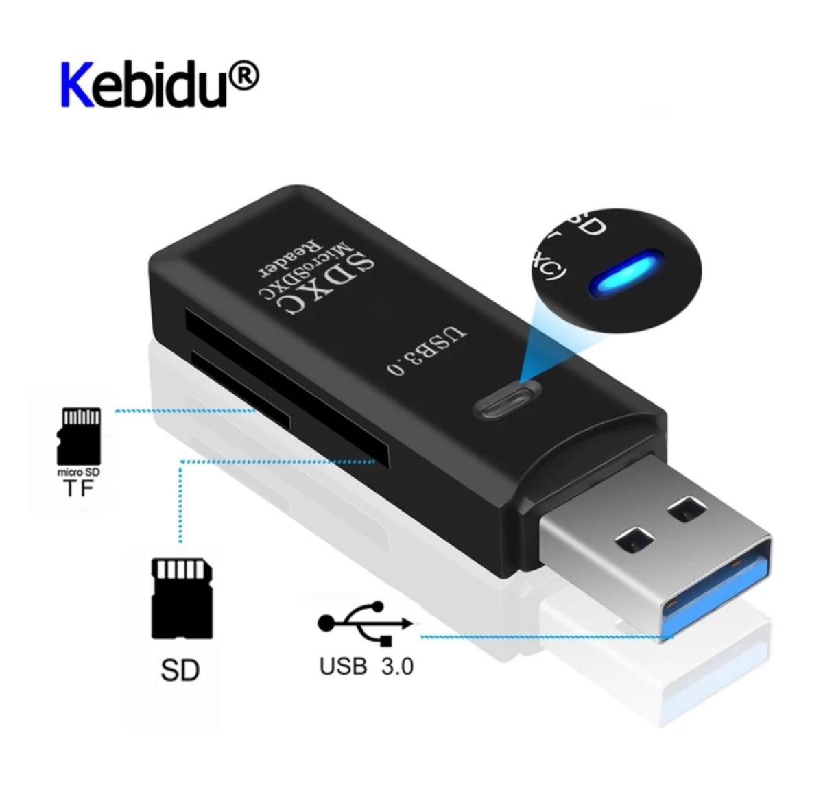 USB3.0 microSD / SDカード カードリーダー!新品未使用