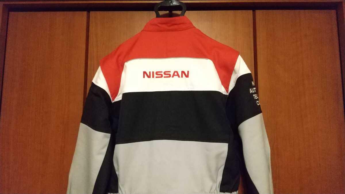 【未使用】NISSAN 日産 つなぎ 作業着 L 送料無料!急発送!_画像3