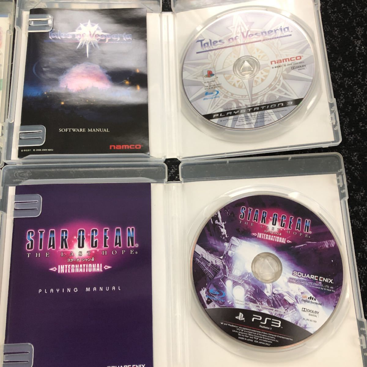 PS3ソフト 4作品