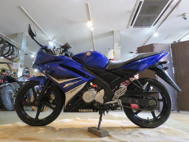 「□ YAMAHA YZF-R15 ME120P ヤマハ 21445km 150cc ブルー 自賠 R7.5 実動! バイク 札幌発」の画像2