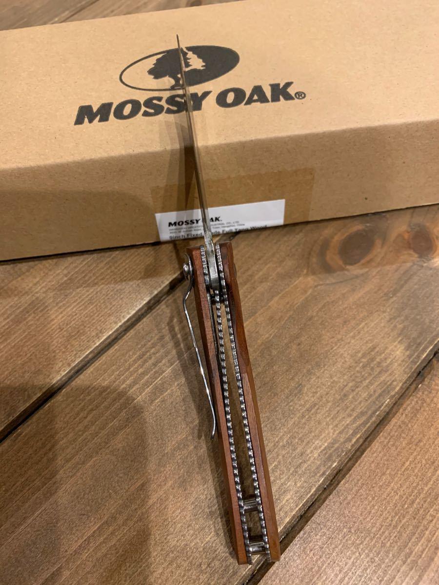 MOSSY OAK 折りたたみナイフ フォールディングナイフ