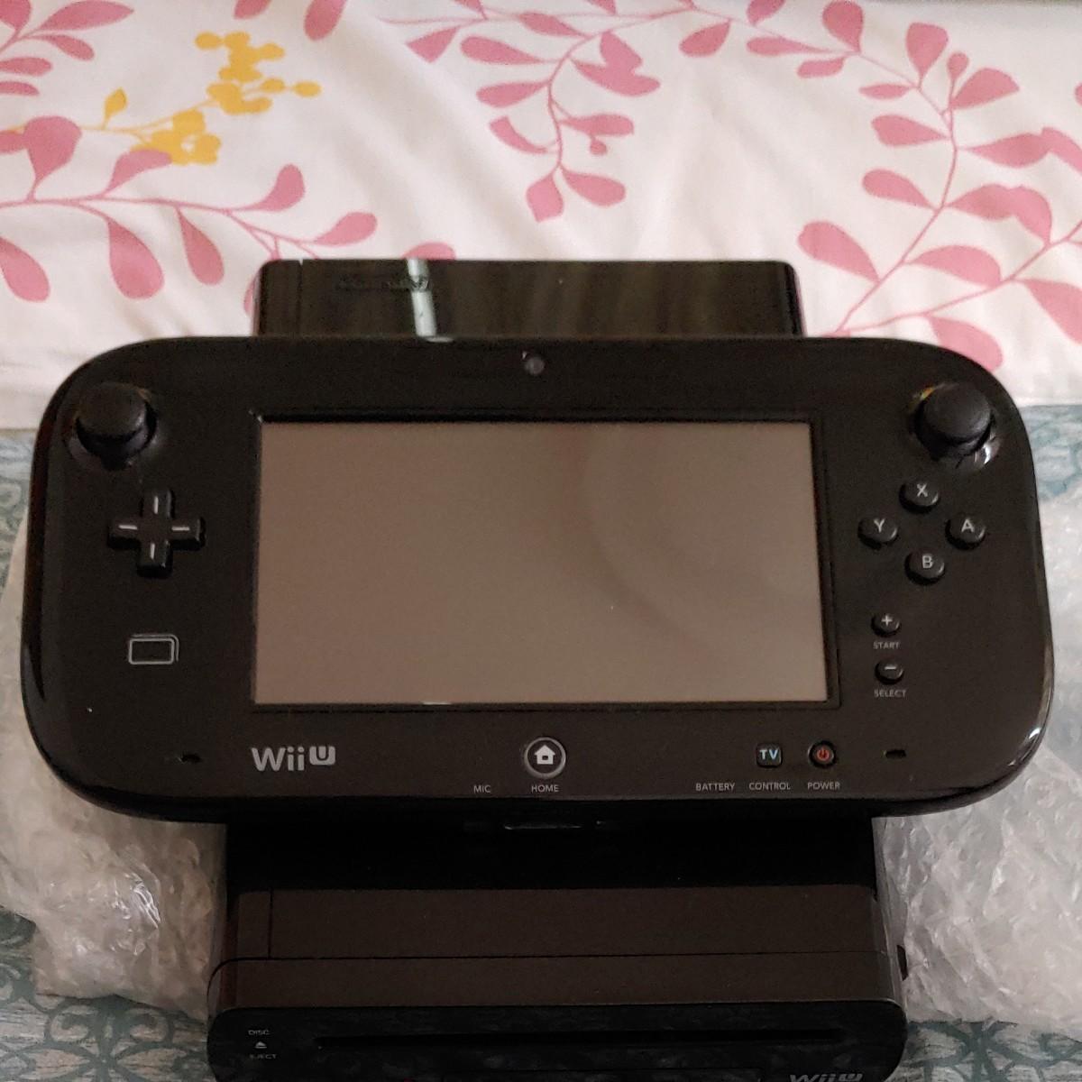WiiU本体 Wii Uゲームパッドセット 32ギガ黒