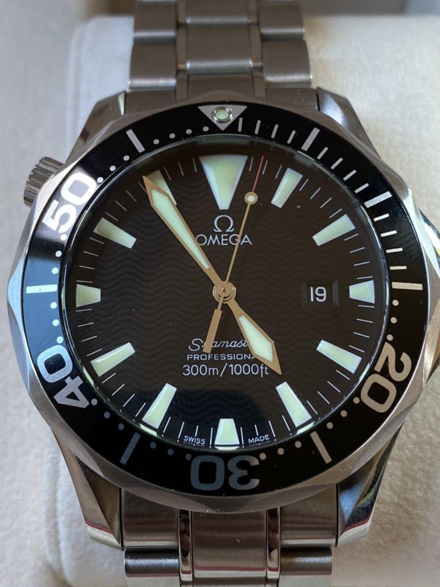 美品 OMEGA シーマスター プロフェッショナル 300 クオーツ 2264.50