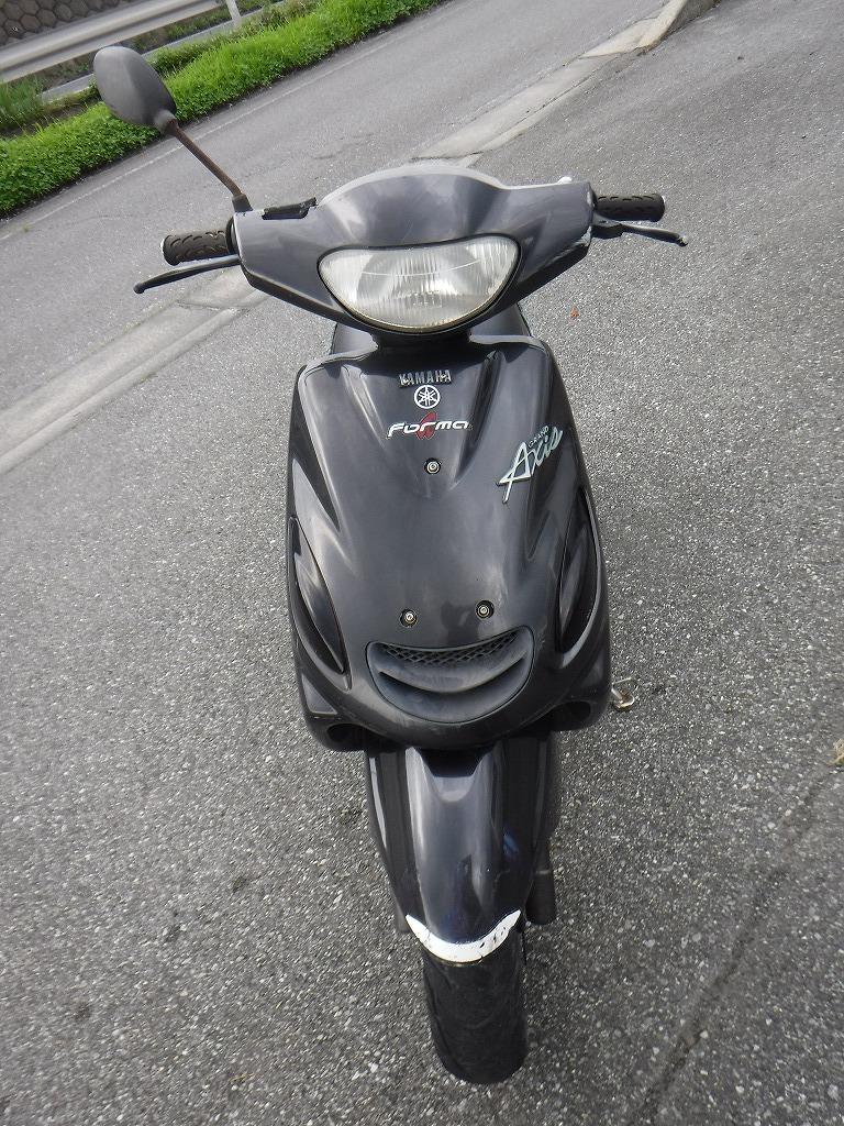 「グランドアクシス100 SB06J 書類・鍵付き 実働 ベース車① 格安 売り切り 黒 」の画像3
