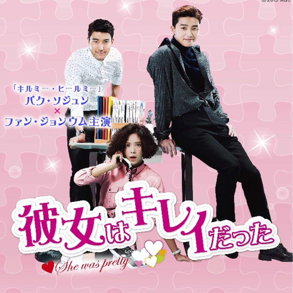 韓国ドラマ 彼女はキレイだった DVD『レーベル印刷有り』全話