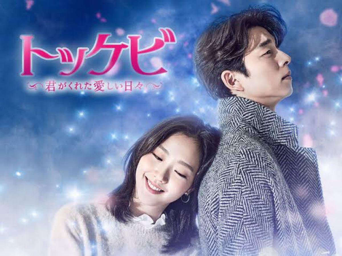 韓国ドラマ トッケビ DVD『レーベル印刷有り』全話