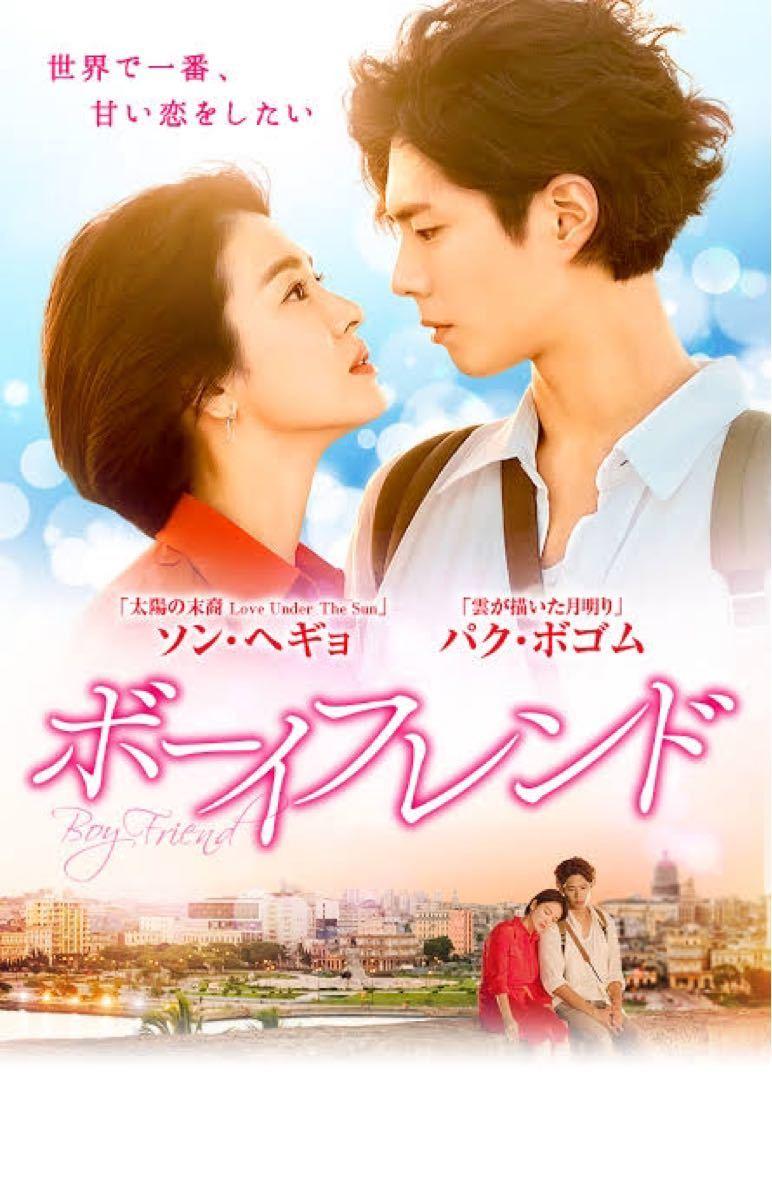 韓国ドラマ ボーイフレンド DVD『レーベル印刷有り』全話