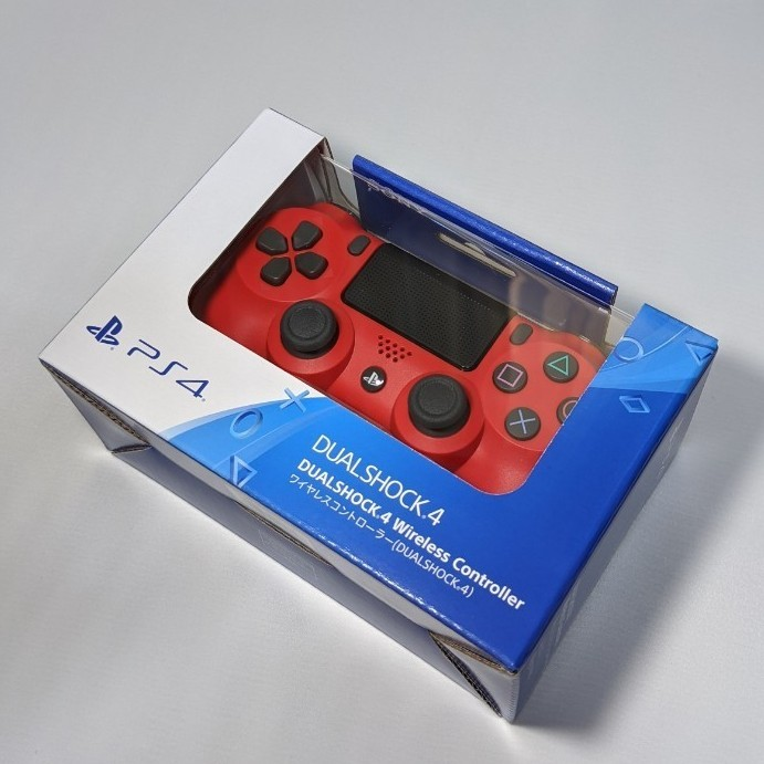 【新品・未開封】PS4 ワイヤレスコントローラー DUALSHOCK4 デュアルショック4 マグマ・レッド 純正